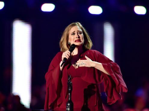 Adele delighted fans by squeezing in some singing during her Saturday Night Live hosting slot (Dominic Lipinski/PA)