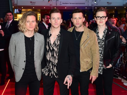 McFly will feature in an 'intimate and emotional' one-off ITV special documenting the band's history (Ian West/PA)