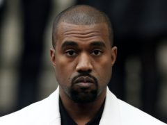 Kanye West congratulated the Lakers on their 17th NBA title (Jonathan Brady/PA)