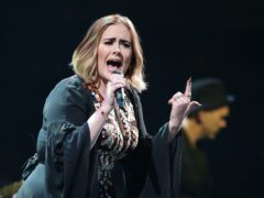 Adele revealed her new album is not finished and joked about her weight loss during her Saturday Night Live hosting gig (Yui Mok/PA)