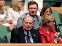 Jack Nicklaus (left) has urged people to vote for Donald Trump in the US presidential election (Adam Davy/PA)