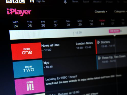 The electronics company is working with the BBC to resolve the issue (Nick Ansell/PA)