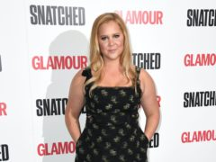 Amy Schumer has stripped naked to promote voting (Doug Peters/PA)