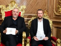 Greg Davies and Alex Horne (Ian West/PA)