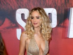 Jennifer Lawrence has said she is 'proud' to be a Democrat after previously revealing she voted for Republicans (Ian West/PA)