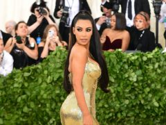 Kim Kardashian West at the Met Gala 2018 (Ian West/PA)