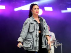 Demi Lovato has shared the music video for her anti-Donald Trump single Commander In Chief (Isabel Infantes/PA)