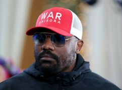 Dereck Chisora steps back into the ring at Wembley's SSE Arena on Saturday night (Steve Paston/PA)