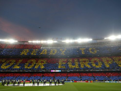 Josep Maria Bartomeu revealed Barcelona have accepted a proposal to join a future European super league following his resignation as president (Nick Potts/PA)