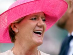 Clare Balding commentates on women's football (John Walton/PA)