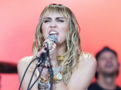 Miley Cyrus will release a new album next month, the singer announced on Instagram (Aaron Chown/PA)