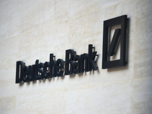 Deutsche Bank has recorded a third-quarter profit of £280 million (Kirsty O'Connor/PA)