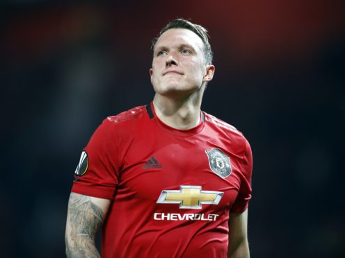 Phil Jones has been left out of Manchester United's Premier League squad for the 2020-21 season (Martin Rickett/PA)
