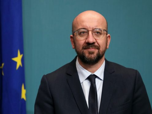 Charles Michel has called for unity (Brian Lawless/PA)