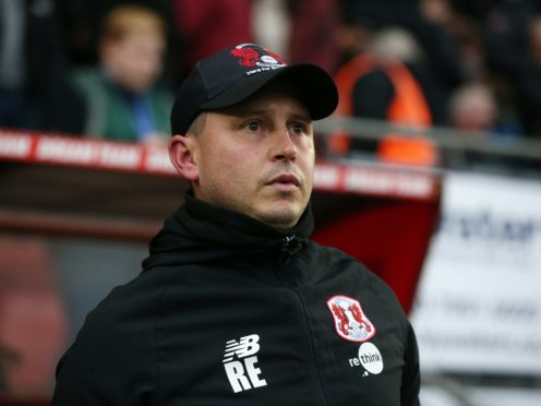 Leyton Orient' head coach Ross Embleton has seen his side win their last two League Two outings (Jonathan Brady/PA)