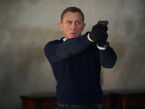 Daniel Craig playing James Bond in the new Bond film No Time To Die (Nicole Dove/Danjaq, LLC/MGM/PA)