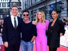 Britain's Got Talent judges David Walliams, Simon Cowell, Amanda Holden and Alesha Dixon (Ian West/PA)