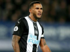 Jamaal Lascelles is a doubt for Newcastle (Martin Rickett/PA)
