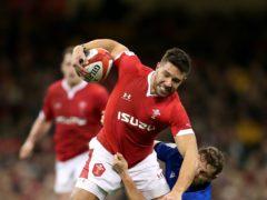Rhys Webb has been struggling with a knee injury (David Davies/PA)