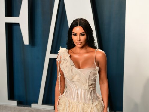 Kim Kardashian West is facing a backlash for an 'insensitive' post about a luxury holiday on a private island to celebrate her 40th birthday (Ian West/PA)