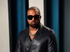 Kanye West promised to 'revive our nation's commitment to faith' in his first campaign video to aid his presidential bid (Ian West/PA)