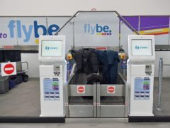 Flybe passengers were left stranded in March when the company entered administration (Jacob King/PA)