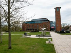 It is hoped the RSC will have a full-scale re-opening of the Royal Shakespeare Theatre in spring next year (Jacob King/PA)