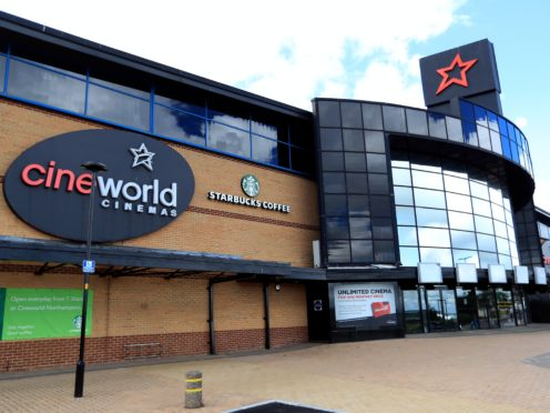 The boss of Cineworld has cited the 'wrong decision' of film studios shifting release dates of titles as a contributing factor to the temporary closure of its theatres in the UK and the US (Mike Egerton/PA)