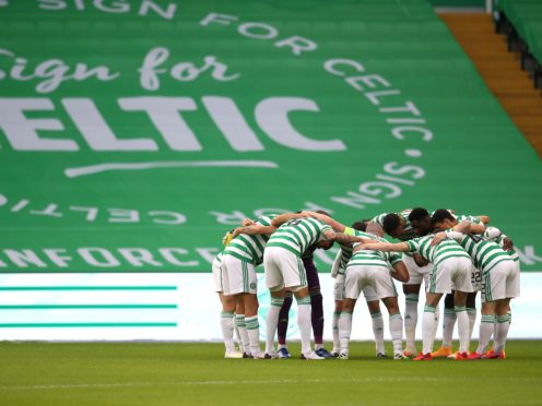 Celtic's revenue was hit by the pandemic (Andrew Milligan/PA)