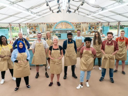 The Great British Bake Off contestants (C4/Love Productions/Mark Bourdillon/PA)
