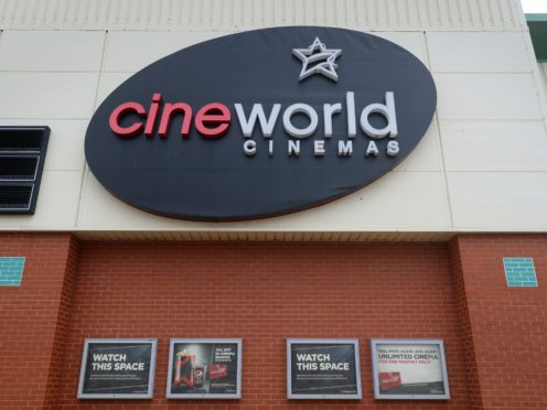 Cineworld in Ashford, Kent (Gareth Fuller/PA)