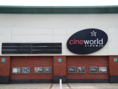 Cinema chain Cineworld has said up to 45,000 employees will be affected worldwide as it confirmed plans to temporarily close its theatres in the UK and the US (Gareth Fuller/PA)