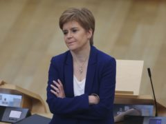 Nicola Sturgeon said staff who are pressured to break coronavirus rules by their employer should report it (Fraser Bremner/PA)