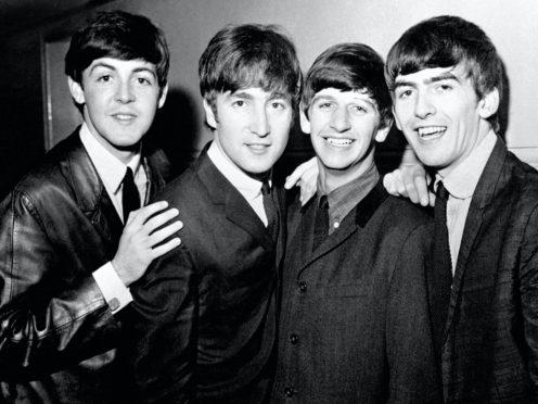 Paul McCartney, John Lennon, Ringo Starr and George Harrison (PA)