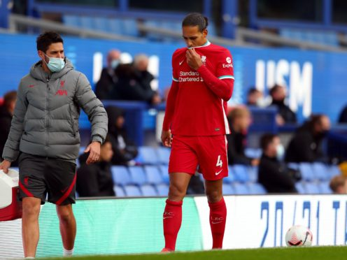 Liverpool manager Jurgen Klopp does not want to know how long he will be without injured defender Virgil Van Dijk (Catherine Ivill/PA)