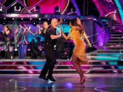 The dancers were paired up during the launch show (BBC/PA)