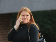 Kerianne Stephens arrives at Maidstone Crown Court in Kent, where she admitted misconduct in a public office over allegations that between September 2018 and January 2019 she had a sexual relationship with a prisoner. Stephens was working as a prison officer at Category B men's prison HMP Swaleside on the Isle of Sheppey, Kent, when she engaged in a sexual relationship with murderer Louis Tate.