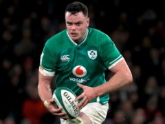James Ryan, pictured, has been backed to lead Ireland's no-fear attitude in Paris on Saturday (Donall Farmer/PA)