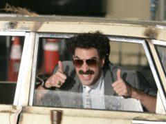 Actor Sacha Baron Cohen in character as Borat (AP)