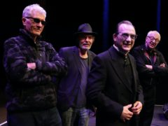 The original members of The Damned at the Roundhouse, London (Yui Mok/PA)