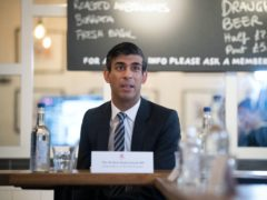 Chancellor Rishi Sunak hosts a roundtable for business representatives at Franco Manca in Waterloo, London (Stefan Rousseau/PA)