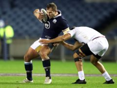 Fraser Brown enjoyed his run out as Scotland captain (Fraser Brown/PA)