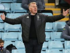 Dean Smith is confident Villa can bounce back (Nick Potts/PA)