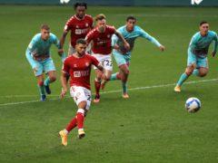 Nahki Wells salvaged a point for Bristol City (Adam Davy/PA)