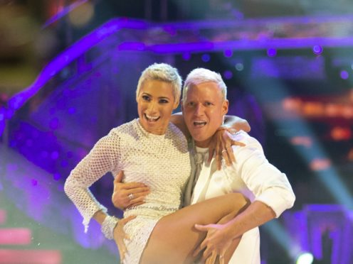 Made In Chelsea star Jamie Laing is paired with professional Karen Hauer on this year's Strictly Come Dancing (Guy Levy/BBC/PA)