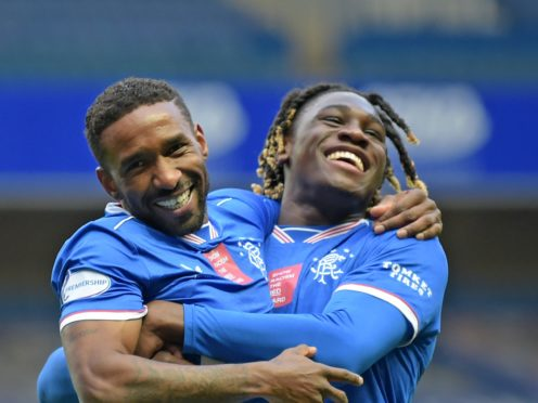Jermain Defoe, left, feels a renewed drive about the Rangers squad (Jane Barlow/PA)