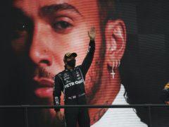 Lewis Hamilton won his 92nd career race (Jose Sena Goulao/AP)