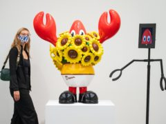 The Philip Colbert: Lobsteropolis exhibition (Dominic Lipinski/PA)