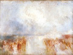Turner's The Disembarkation Of Louis-Philippe At The Royal Clarence Yard (Tate/PA)