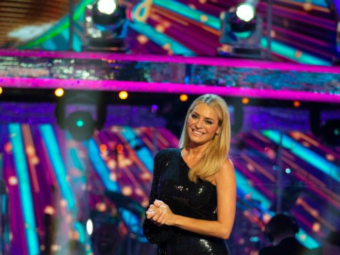 Strictly Come Dancing host Tess Daly (BBC/PA)